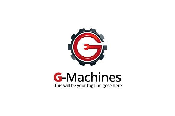 G-Machines Logo Template