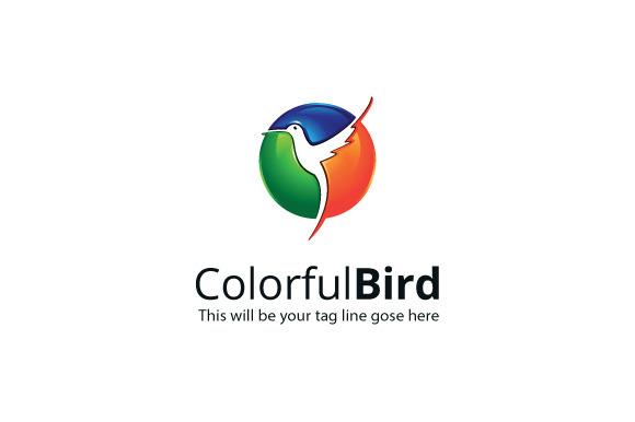 ColorfulBird Logo Template