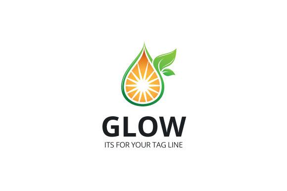 Glow Logo Template