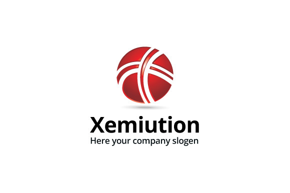 Xemiution Logo Template
