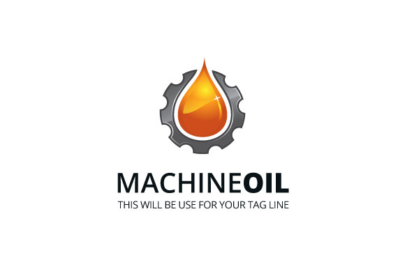 MachineOil Logo Template