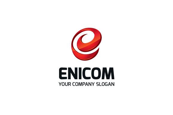 Enicom Logo Template