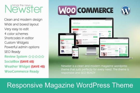 Newster WP Magazine Theme