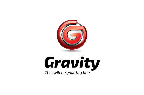 3D Gravity Logo Template