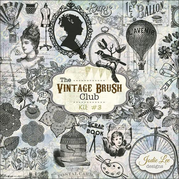 40 Vintage Brushes #3