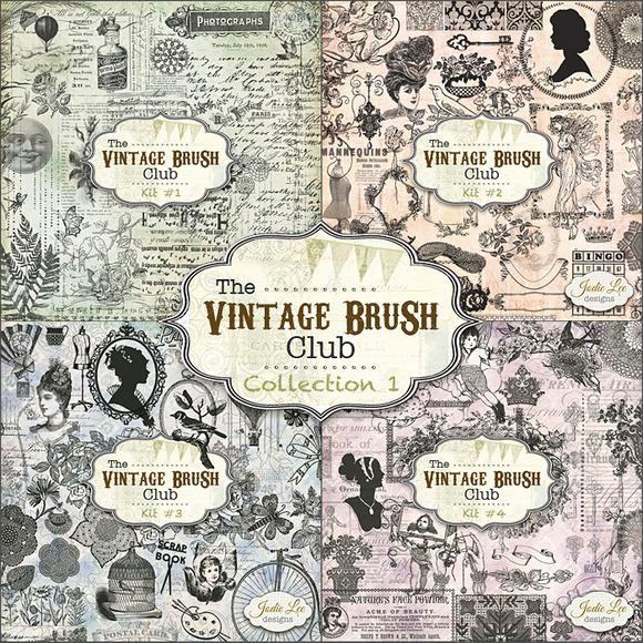 160 Vintage Brushes