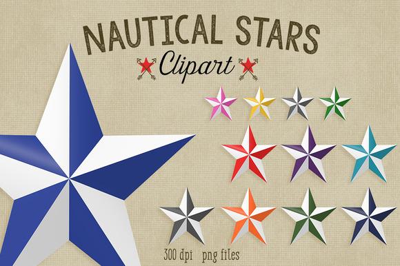 Nautical Stars Clipart
