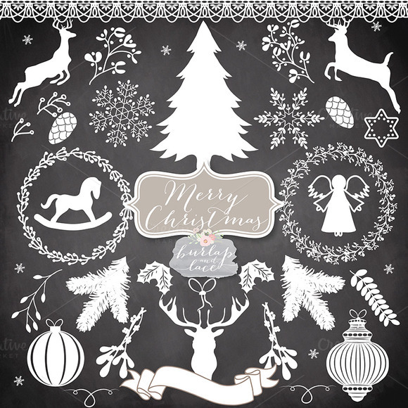 Vector Christmas Cliparts