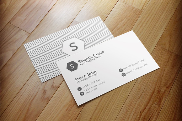 Simple Business Card V2