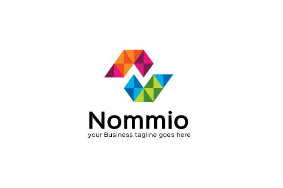 Nommio Logo Template