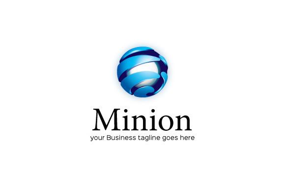 Minion Logo Template