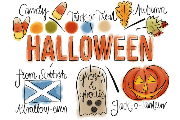 Halloween Watercolors