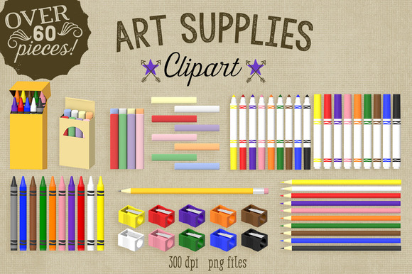 Commercial Clipart-Art Supplies