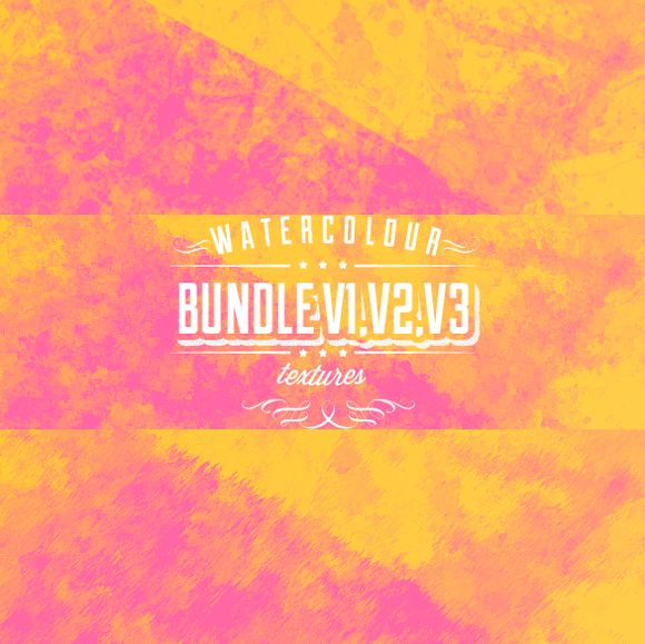 Watercolour Bundle V1 V2 V3