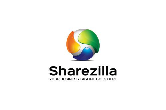 Sharezilla Logo Template