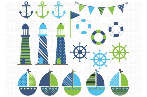 Nautical Digital Clip Art