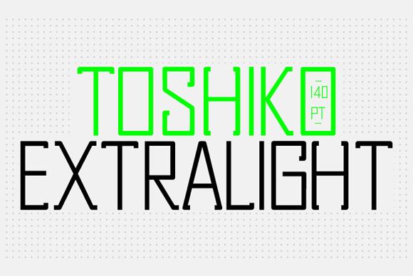 ЎпЎп Toshiko Typeface ЎпЎп