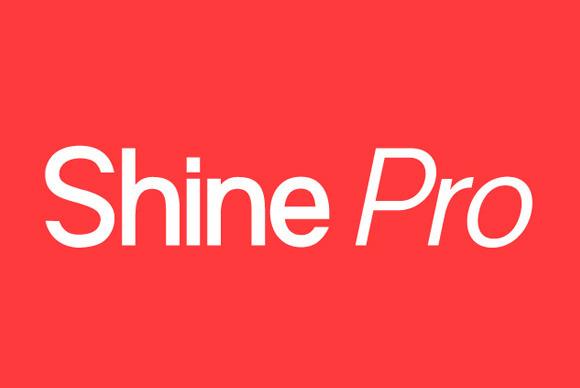 ЎпЎп Shine Pro Type Family ЎпЎп