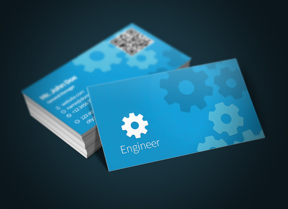 Engineer Business Card Bonus