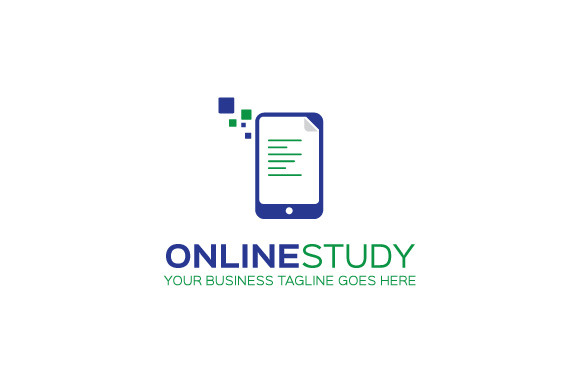 Online Study Logo Template