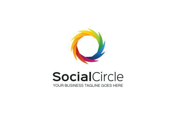 SocialCircle Logo Template