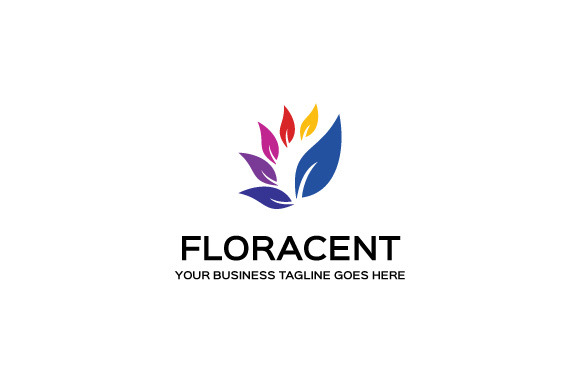 Floracent Logo Template
