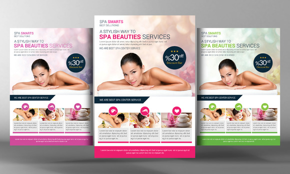 Dream Spa Flyer Template