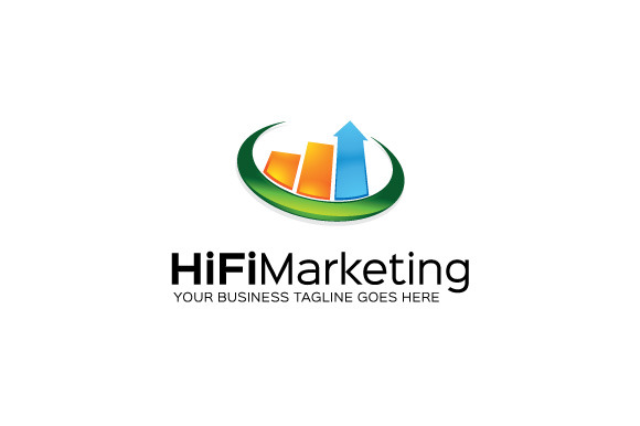 HiFi Marketing Logo Template
