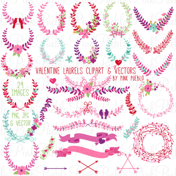 Valentine S Day Laurels And Wreaths