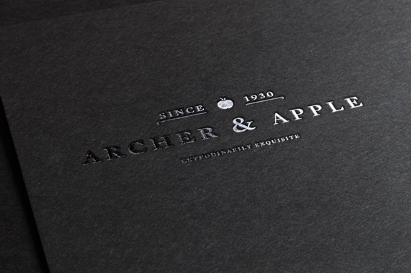 High End Vintage Logo Template