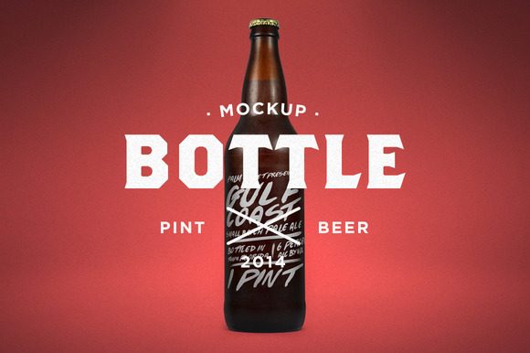 Pint Beer Mock-Up