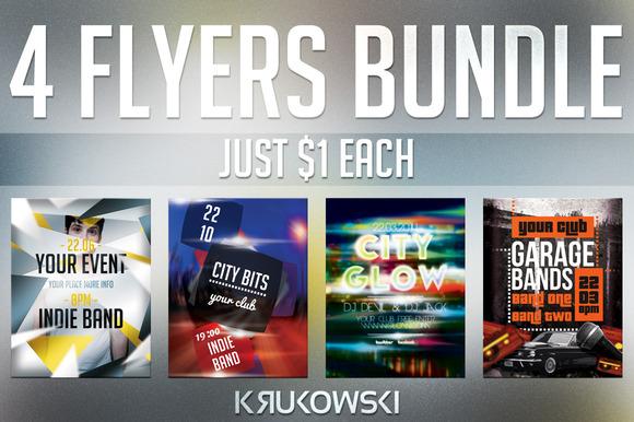 One Dollar Flyers Bundle Vol 2