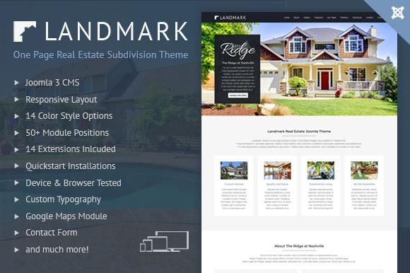 Real Estate Subdivision Template