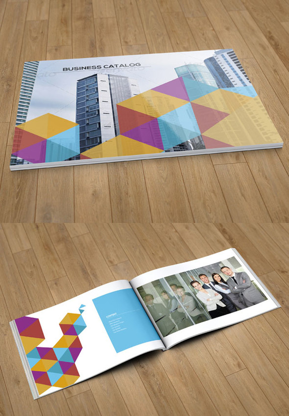 Business Catalog Template 12 Pages