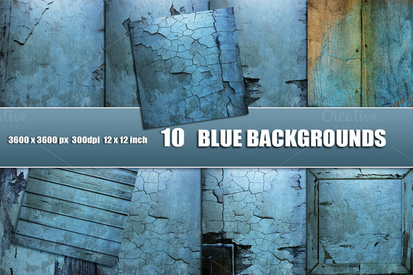BLUE DISTRESSED BACKGROUNDS