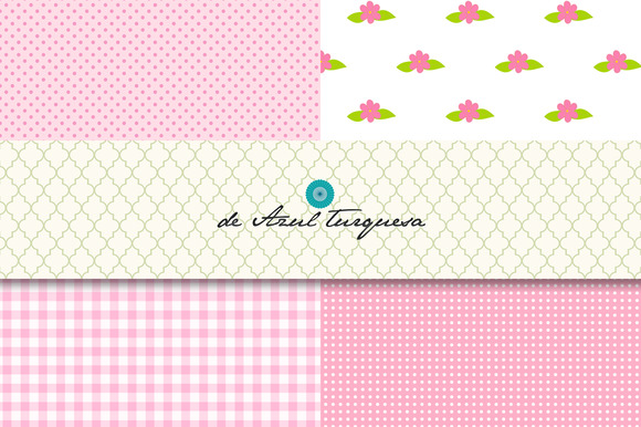 Pink Fever Digital Papers