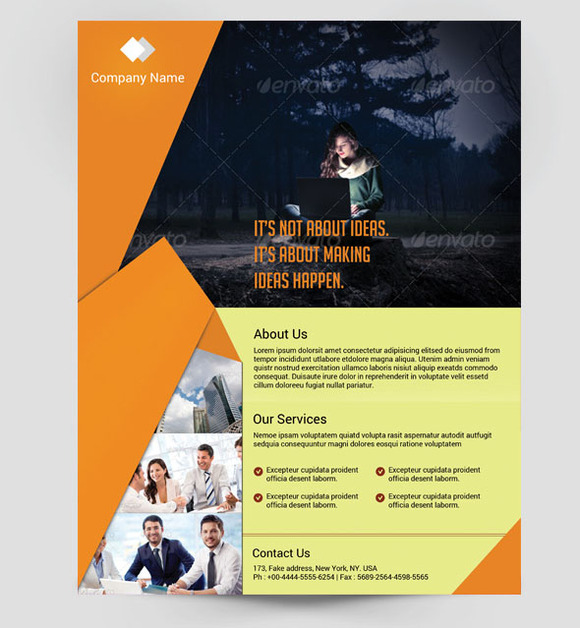 Multipurpose Business Flyer-2color