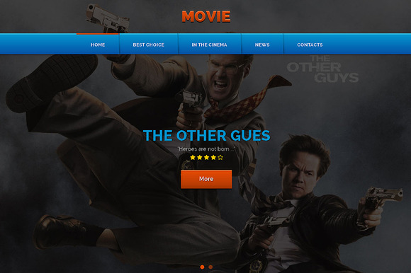 Movie Responsive One Page Theme