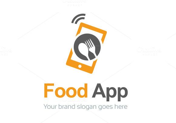 Food App Logo Template