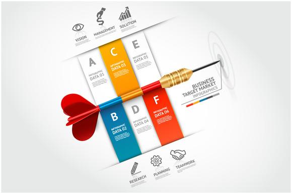 Business Target Marketing Dart