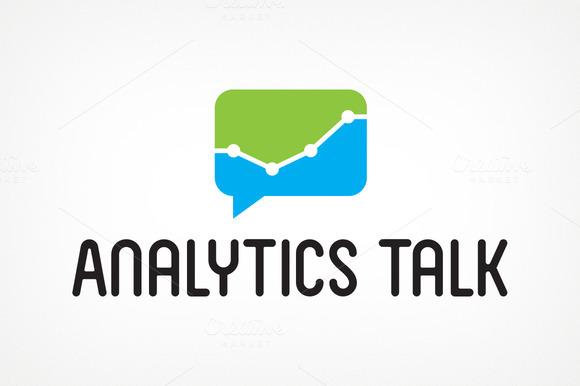 Analytics Talk Logo Design