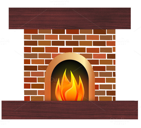 Fireplace Logs Clip Art » Designtube - Creative Design Content