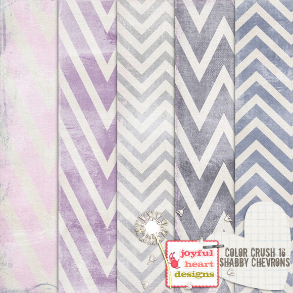 Color Crush 16 {chevrons}