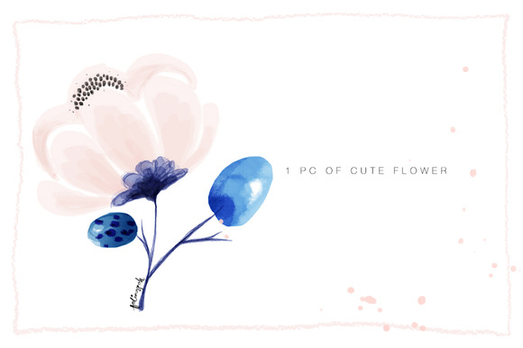 Cute 1pc Of Flower