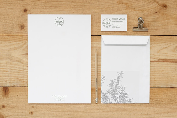 Stationery Mock Up