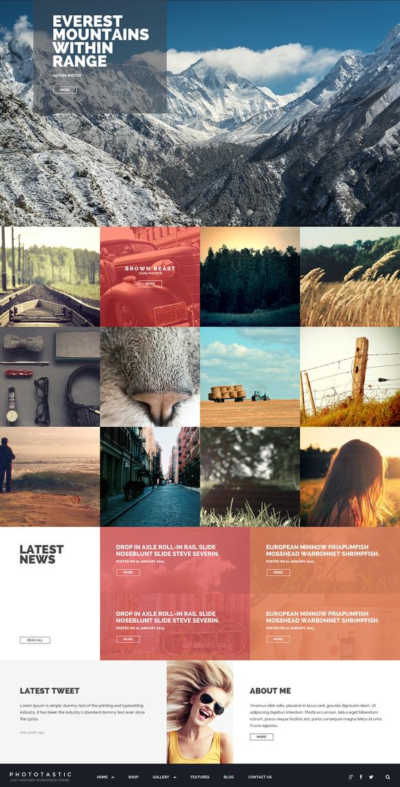 Phototastic Photography Theme