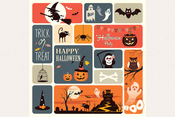 Halloween Elements