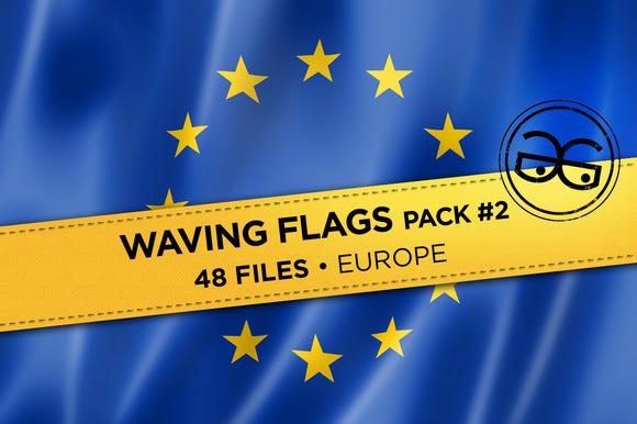 Waving Flags Pack #2
