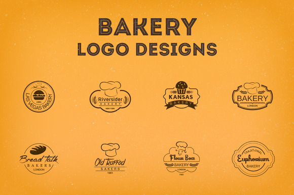 20 Yummy Bakery Logos  Think Design