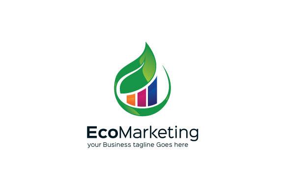 Eco Marketing Logo Templae